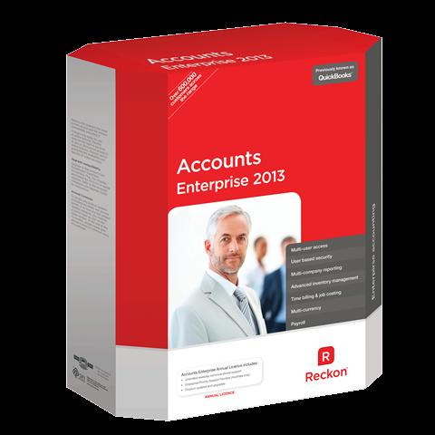 Reckon Accounts Enterprise 2019 1 User - Business Solutions